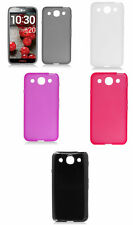 For LG Optimus G Pro Candy Skin Gel TPU Soft Hard Flexible Cover Case Accessory