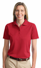 Port Authority New Ladies Dri FIt Ottoman Polyester Golf Polo Shirt XS-4XL. L525