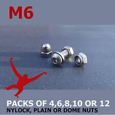 M6 (6mm) Allen Socket Button Head Bolts, Nuts & Washers. A2-70 Stainless Steel.