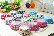 200 pcs CupCake and Muffin Paper Different baking cups liners cases party