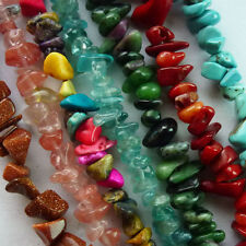 Beautiful A Strand Mixed Gemstone chips Loose Bead 34 inch Mayan-24
