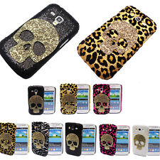 ZY Deluxe 3D Metalic Skull Case for Sumsung Galaxy Grand Trend Duos i9082 S7562