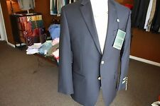 Lauren Ralph Lauren Total Comfort 100% Natural Stretch Wool Navy Blazer Regular