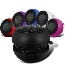 PORTABLE RECHARGEABLE BLACK 3.5MM SPEAKER FOR VARIOUS MOBILE PHONES