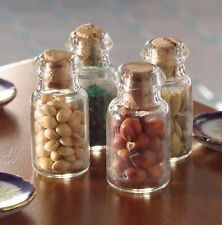 Dolls House Miniature 1/12th Scale Various Sets of Spices, Herbs or Sugars