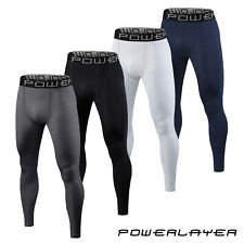 Mens Boys Compression Armour Baselayer Tights Leggings Thermal Under Gear Skins