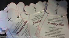 Christening / Baptism Invitations - Personalised. Baby Girl dresses. 3 designs