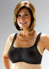 Classique Post-Mastectomy Molded Pocket Bra with Lace Insert, Black, #720  *NEW*