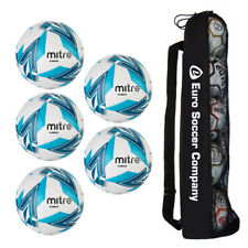 NEW Mitre Ultimatch Ball Tube Bundle of 5 Footballs - Match Football Ball Deal