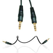 JACK TO JACK 1M AUDIO CABLE 3.5MM STEREO FOR VARIOUS MOBILE PHONES