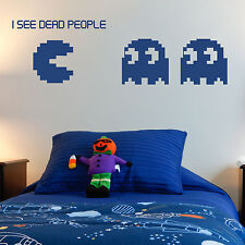 GAMING, LARGE WALL STICKER, Pacman, Monster, Decal, WallArt, SS672