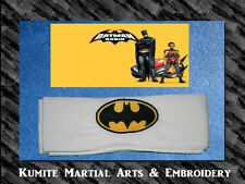 Batman and Robin Embroidered Super Hero Character Headband