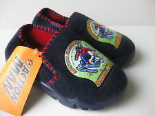 Boys Size 9, 10, 11 Navy Blue ACTION MAN Slippers NEW Arctic Mission