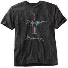 OFFICIAL LICENSED MERCHANDISE FORD MUSTANG TRIBAR TRI-BAR GT TEE T-SHIRT BNWT