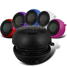 Portable Speaker Rechargeable Black 3.5mm For Various Mobile Phones