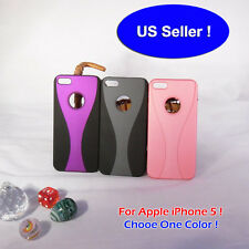 Hybrid Color Modern Style Protective Back Cover Case for Apple iPhone 5/5G/5th