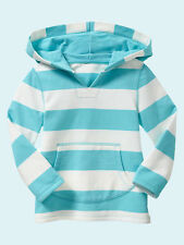 NEW GAP STRIPED POPOVER HOODIE SIZE 4T 5T