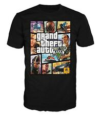 T-SHIRT GTA V GRAND THEFT AUTO FIVE SAN ANDREAS VICE CITY JEUX VIDEO NEUF