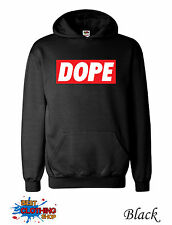 Dope Mens Micky Mouse Hands Mac Obey Hoodie S-XXL - Black III
