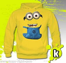 Despicable Me Minion Hoodie ( 2 eyed )