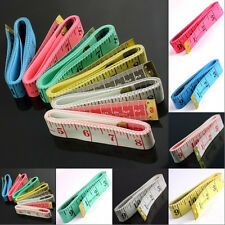 HQ Plastic Soft Dieting Tailor Tape Sewing Cloth Ruler Body Waist Measure Pink..