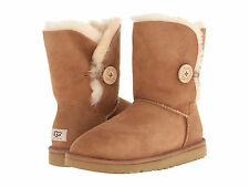NEW WOMEN UGG AUSTRALIA BOOT BAILEY BUTTON CHESTNUT 5803 ORIGINAL
