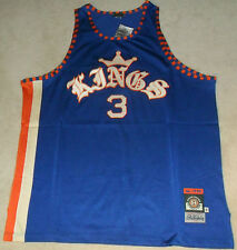"Rucker ""Kings"" Road Throwback Basketball Jersey - Stall & Dean - Sizes 58 60 62"