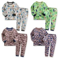 "[Korea] 2pcs NWT Baby Toddler Kid's Boy Clothes Sleepwear Pajama Set ""Oh~!Boy"""