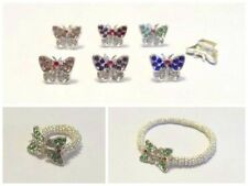 Duo Crystal Butterfly Daisy Snowflake Bracelet & Ring Making Kit - lady-muck1