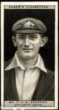 Ogdens, Cricket 1926, Cricketers, 1926, #1 to #25