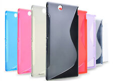 Rubber Soft TPU S-line Back Case Cover Skin for Sony Xperia Z Ultra XL39h C6802