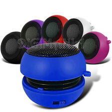 Portable Rechargeable 3.5mm Speaker Blue For Various Mobile Phones