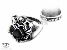 Alchemy Gothic Anchors Aweigh Ring BRAND NEW