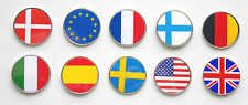 INTERNATIONAL FLAG GOLF BALL MARKERS