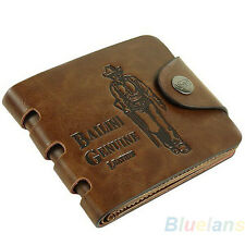 Multi Choices Men Leather Wallet Purse Clutch Cente Bifold Clip Cash Holder B23U