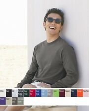 Hanes - Long Sleeve Beefy-T - 5186 Sizes S-3XL Many Colors