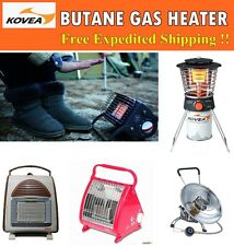 New [KOVEA] Auto Ignition Butane Gas Heater Indoor Outdoor Camping Portable Safe