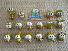 Cut the Rope Nommies: pick your green/gold Om-Nom & black/gold Spider figures