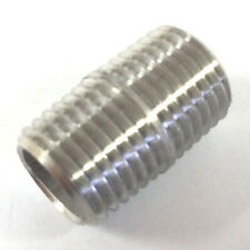 Male NPT MIP 304 Stainless Steel Schedule 40 Close Pipe Nipple Connector Fitting