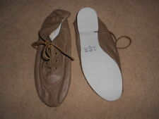 Tan leather so danca full sole jazz shoes - various sizes