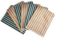 HALLOWEEN TRICK OR TREAT CANDY STRIPE PAPER SWEET FAVOUR BUFFET BAGS -5x7 INCHES