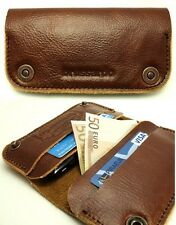 "Brussardo ""Grande Collection"" Italian Leather Case Wallet For Samsung Galaxy S4"