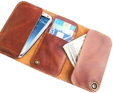 "Brussardo ""Ambitious Collect."" Italian Leather Case Wallet For Samsung Galaxy S4"