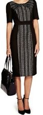 NEW MARKS AND SPENCER PER UNACOTTON RICH PLEATED NECK SHIFT  DRESS RETAIL £45.00