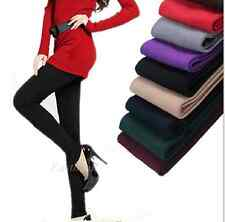 Skinny Slim Thick Footless Tights Women Warm Winter Girl Leggings Stretch Pants