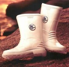 DECK BOOTS - WHITE - MARLIN FISHING BOOTS - FISHING BOOTS