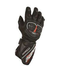 Rst Tractech Leather Waterproof Motorcycle Motorbike Gloves Black