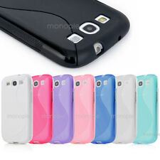 Hard Silicone Best Impact Hard Case Cover Gel For Samsung Galaxy S3 S III i9300