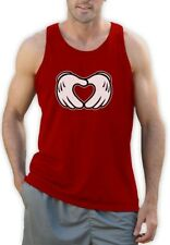 Dope Mouse Singlet GlovesHANDS YOLO CARTOON HIGH heart SWAG Diamond Disobey Gang