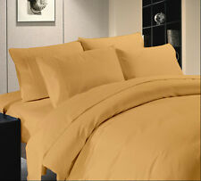 WHOLESALE PRICE HOTEL BRAND GOLD COLOR 1000TC COTTON COMPLETE UK BEDDING